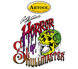 Artool Horror of Skullmaster Profile Freehand Airbrush Template by Craig Fraser