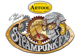 Artool Steampunk FX Junk Freehand Airbrush Template by Craig Fraser