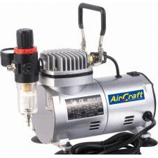 Airbrush Compressor 1cyl - Regulator - Filter - airbrushwarehouse