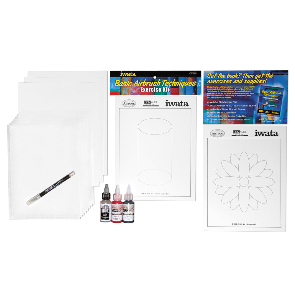 Basic Airbrush Techniques Exercise Kit by Robert Paschal
