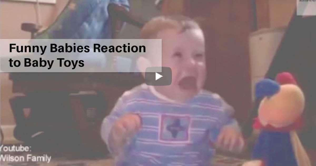 Funny Babies Reaction to Baby Toys