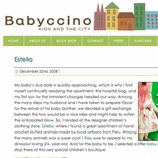 Estella - Babyccino Blog