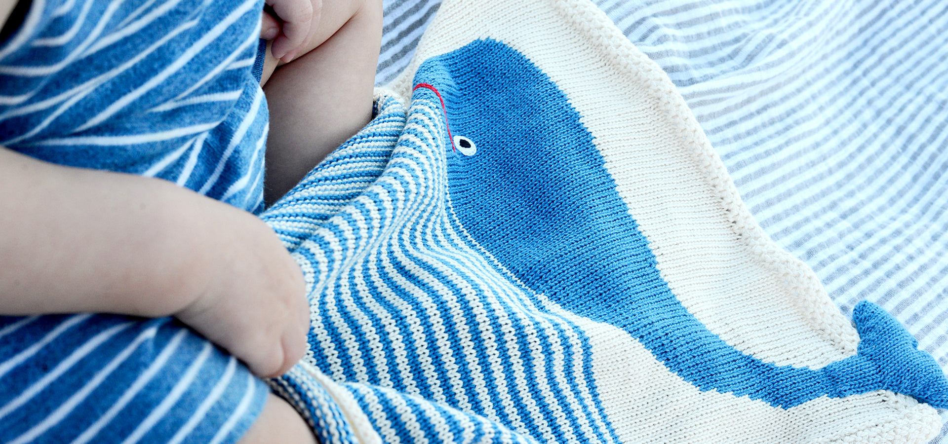 Organic Whale Security Blanket