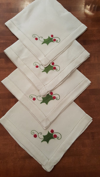 Christmas Dinner Napkins