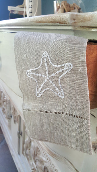 Guest Towel - Starfish