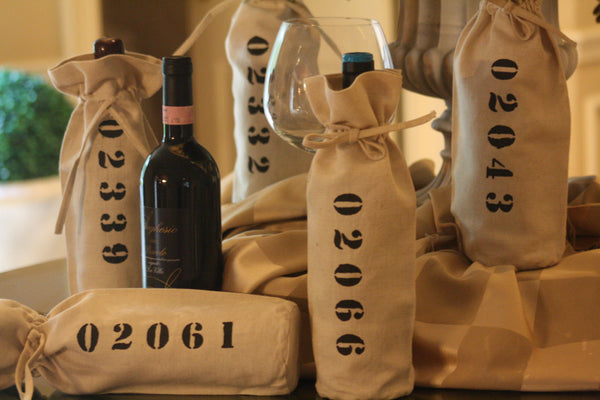 Wine Bottle Gift Bag - Zip Code
