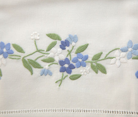 Pillowcase - Garland Hemstitched