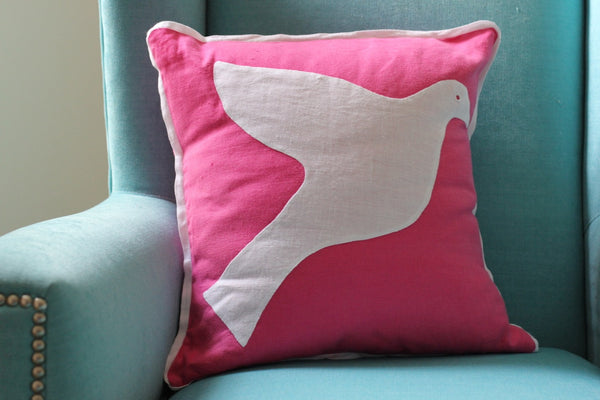 Pillow Cover - Dove