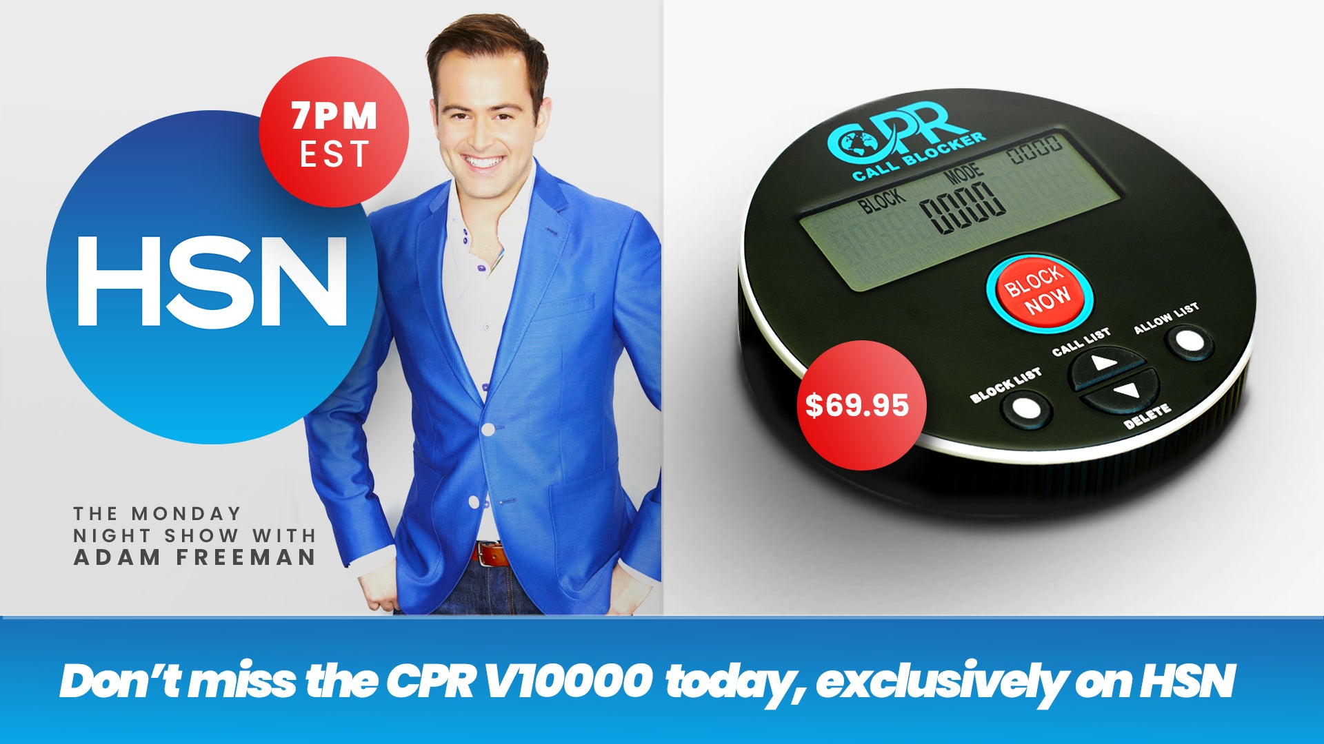 Introducing The Call Blocker V10000 Live on HSN Today 7pm EST