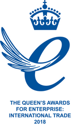 Queen's award for enterprise - winner 2018
