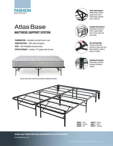 Atlas Base Mattress Support System