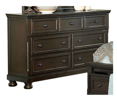1718GY-5 Dresser with Hidden Drawer - Mike the Mattress Guy