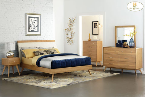 1915 Anika Collection Dresser & Mirror - Mike the Mattress Guy