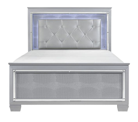 1916-1 Queen/King Bed with LED Lighting - Mike the Mattress Guy