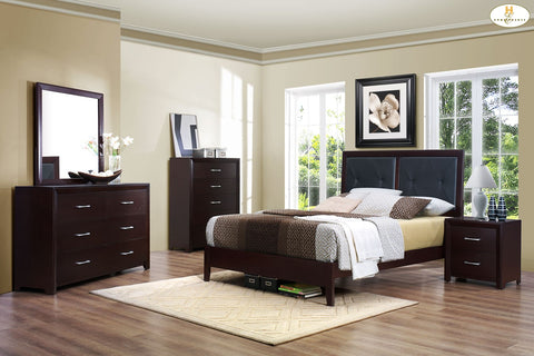 2145 Edina Collection Dresser & Mirror - Mike the Mattress Guy