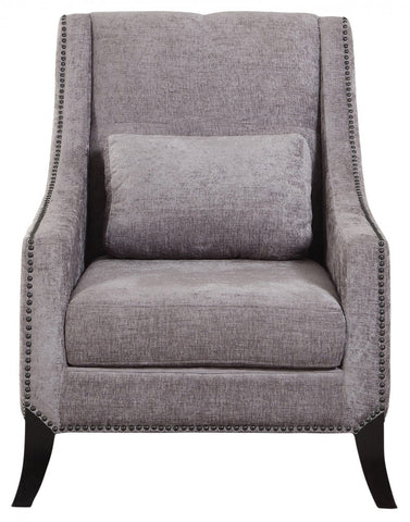 Ventana Grey Accent Chair - Mike the Mattress Guy