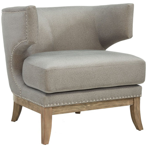 Wynn Ivory or Grey Wing Accent Chair - Mike the Mattress Guy