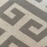 Vemo Greek Key Patterned Accent Chair - Mike the Mattress Guy