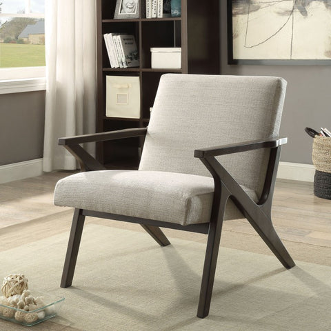 Beso Brown or Beige Accent Chair - Mike the Mattress Guy
