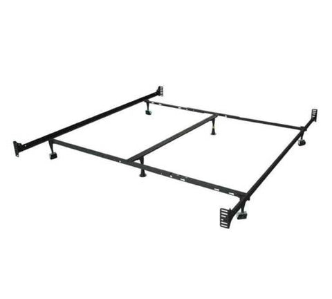 Single, Double, Double Ended Metal Bed Frame - Mike the Mattress Guy