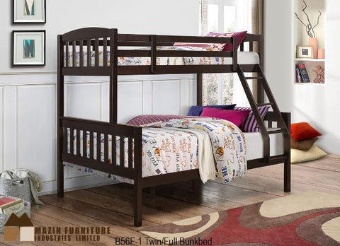 B-56F Single Over Double Bunk Bed - Mike the Mattress Guy