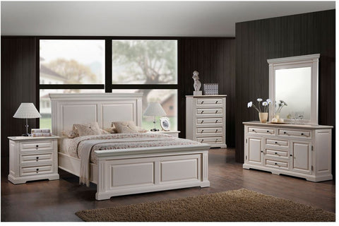 Brianna Collection Dresser & Mirror - Mike the Mattress Guy