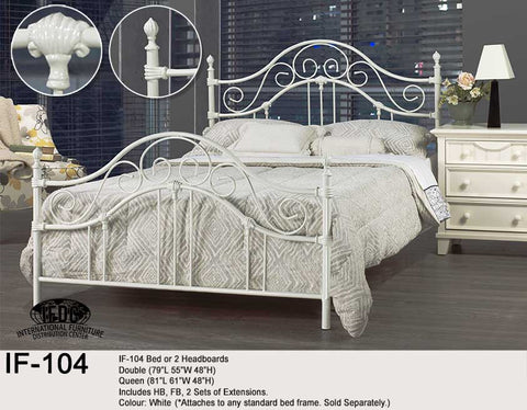 IF-104 White Headboard