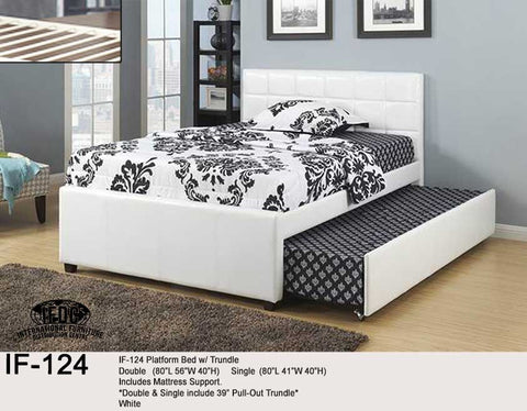 IF-124 Bed with Trundle - Mike the Mattress Guy