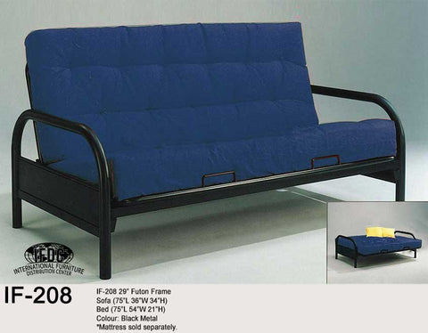 IF-208 Metal Futon Frame - Mike the Mattress Guy