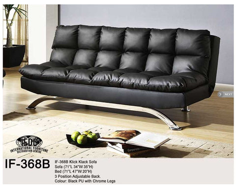 IF- 368 Klick Klack Sofa 3 Different Colours Available - Mike the Mattress Guy