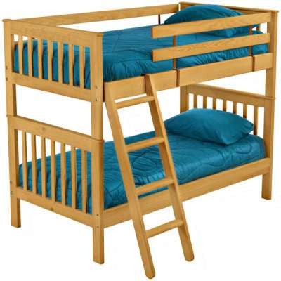 Crate Design Mission Bunk Bed - Mike the Mattress Guy