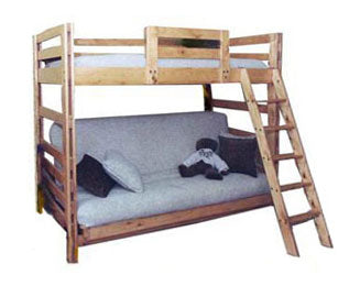 Nordic Futon Bunk All Canadian Made