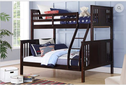 B-1820 Single Over Double Bunk Bed - Mike the Mattress Guy