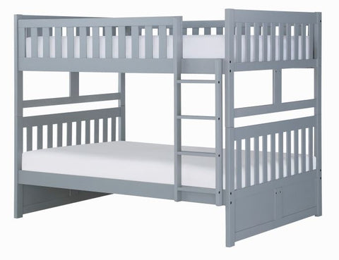 B2063FF-1 Full/Full Bunk Bed - Mike the Mattress Guy