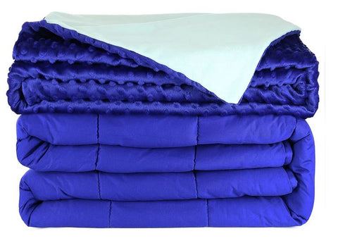 15lb WEIGHTED BLANKET (TWO COLOURS AVAILABLE) - Mike the Mattress Guy