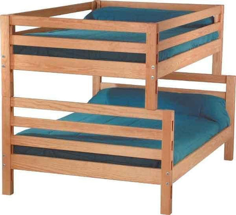 Crate Design Combination Bunk Bed - Mike the Mattress Guy
