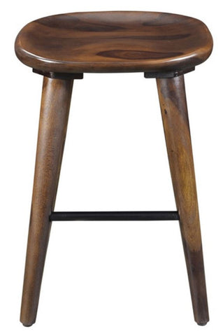 "Tahoe 26"" Stool in Natural or Walnut - Mike the Mattress Guy"