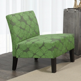 Lanai Ring Patterned Accent Chair - Mike the Mattress Guy