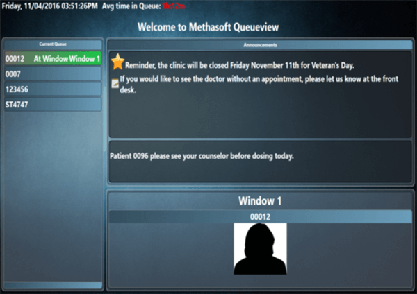 Queueview Screen