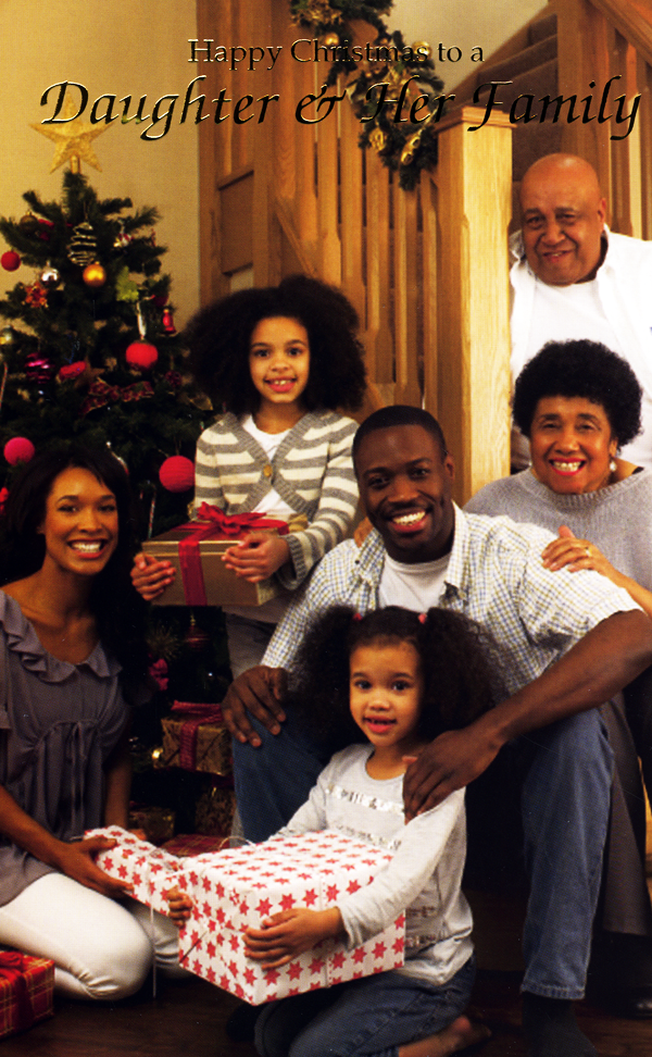 Black People Christmas Pictures.Daughter Family Christmas 001