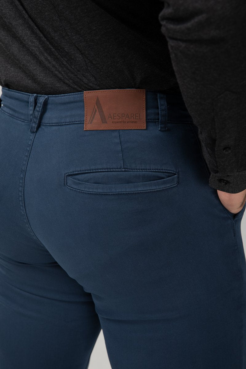 Chino Navy Blue Bottom Detail (2416475635793)