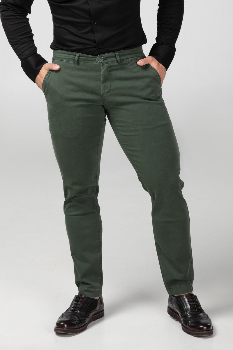 Chino Forest Green Front View