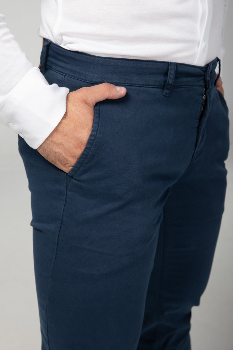 Chino Navy Blue Side Detail (2416475635793)