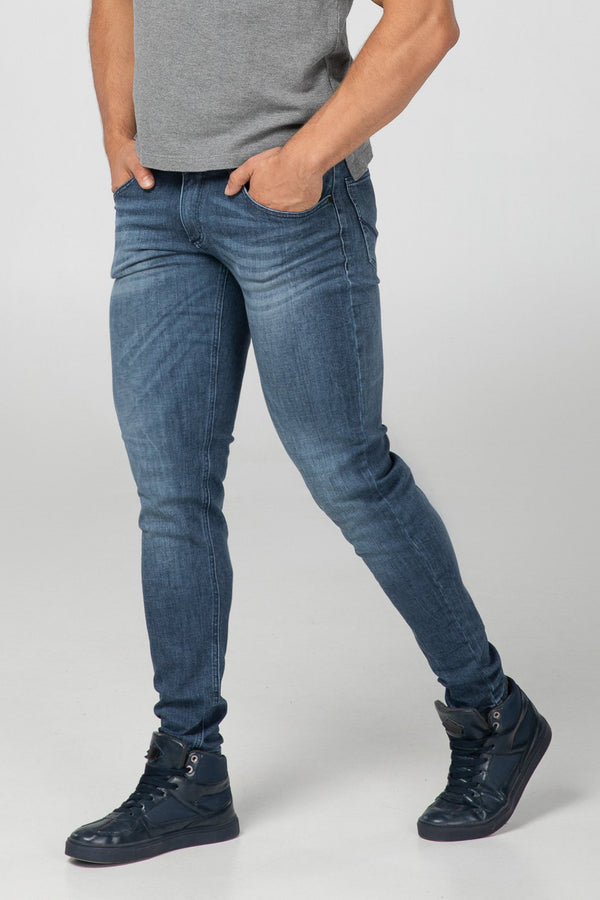 SLIM FIT MEN'S JEANS - 3D
