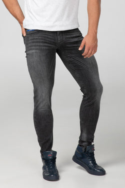 SLIM FIT MEN'S JEANS - STONE GREY