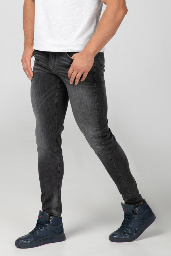 Stone Grey Slim Fit Side View