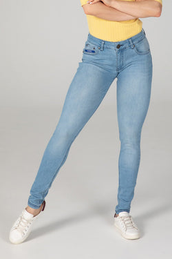 BODY FIT WOMEN'S JEANS - SUMMER BREEZE - Aesparel