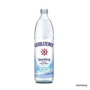 Gerolstiener-Carbonated-Mineral-750ml-Glass-Bottled-Water