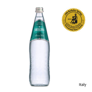 Smeraldina 750ml Artesian Italian Glass Bottled Water