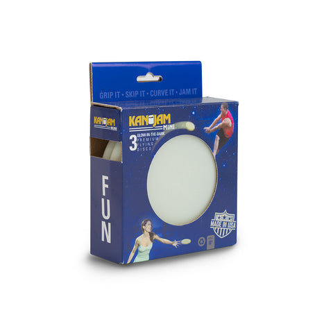 KanJam Mini Glow Disc – 3 Pack